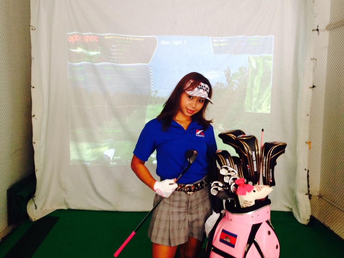 カンボジアでゴルフ文化をつくる