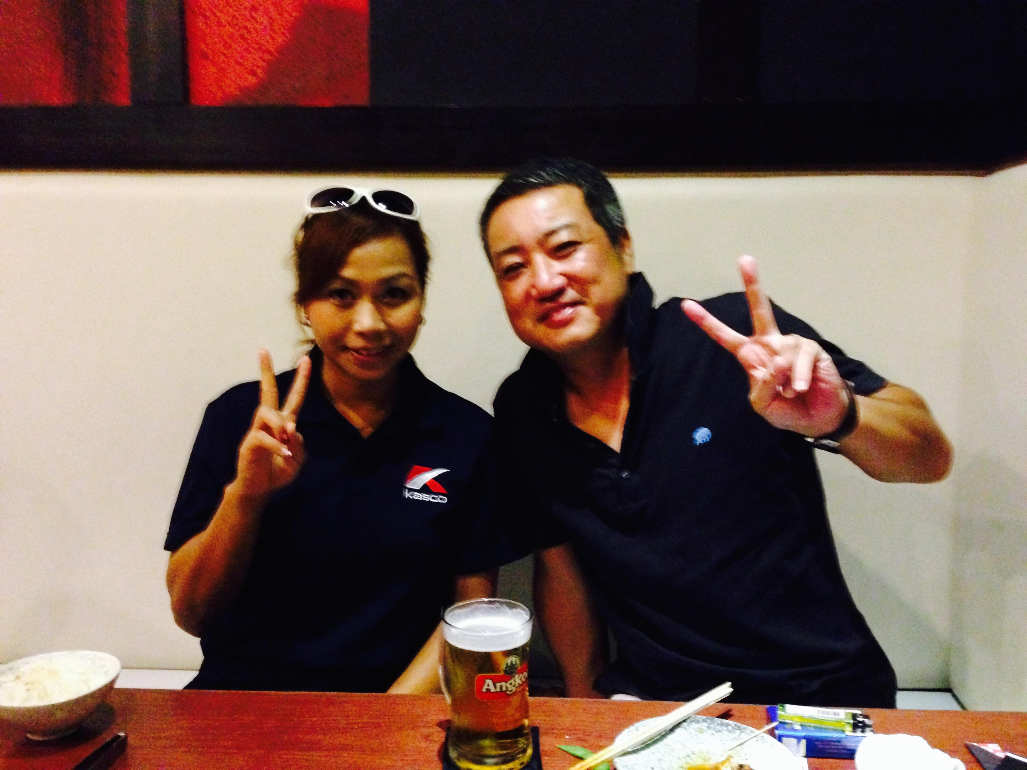 カンボジア初の女子プロゴルファー「チャン・リナ」