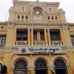 カンボジアの郵便局
