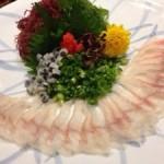 浜松で初めてのうなぎの刺身