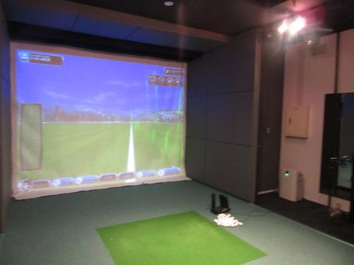 代官山のカッコいいゴルフスタジオに訪問した。