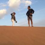 世界最大級の砂漠で
